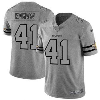 cheap nfl jerseys nike Men\'s New Orleans Saints #41 Alvin Kamara ...